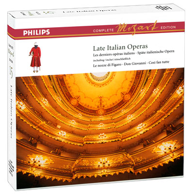 Complete Mozart Edition 15 Late Italian Operas (11 CD) Серия: Complete Mozart Edition инфо 3046b.